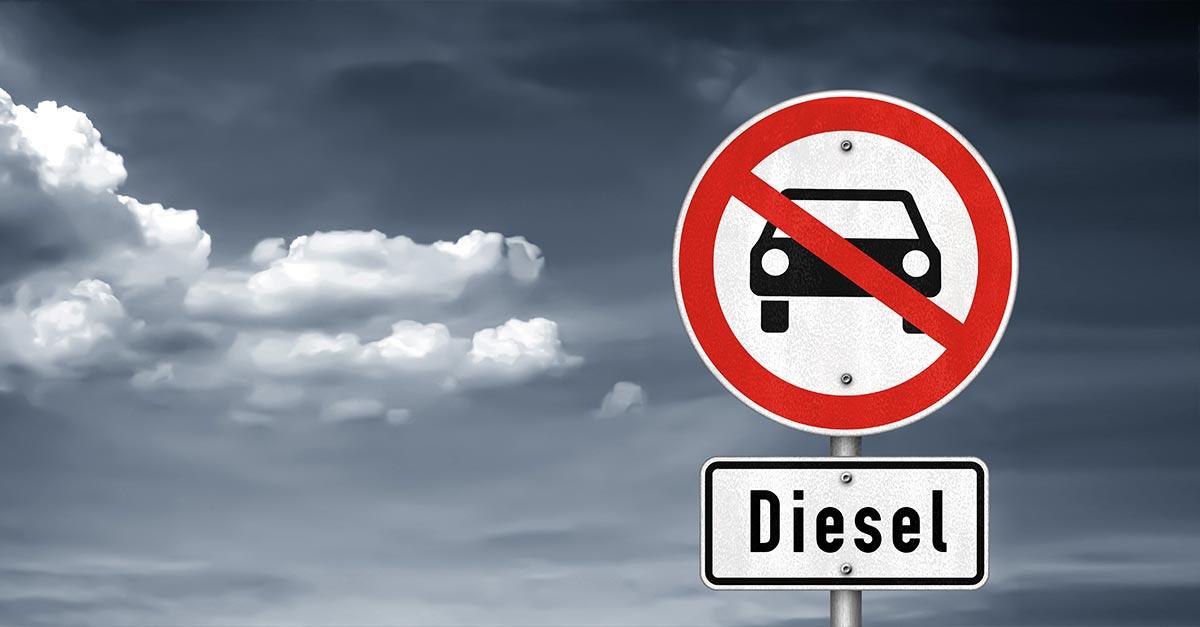 15.000 Verstöße gegen das Diesel-Fahrverbot